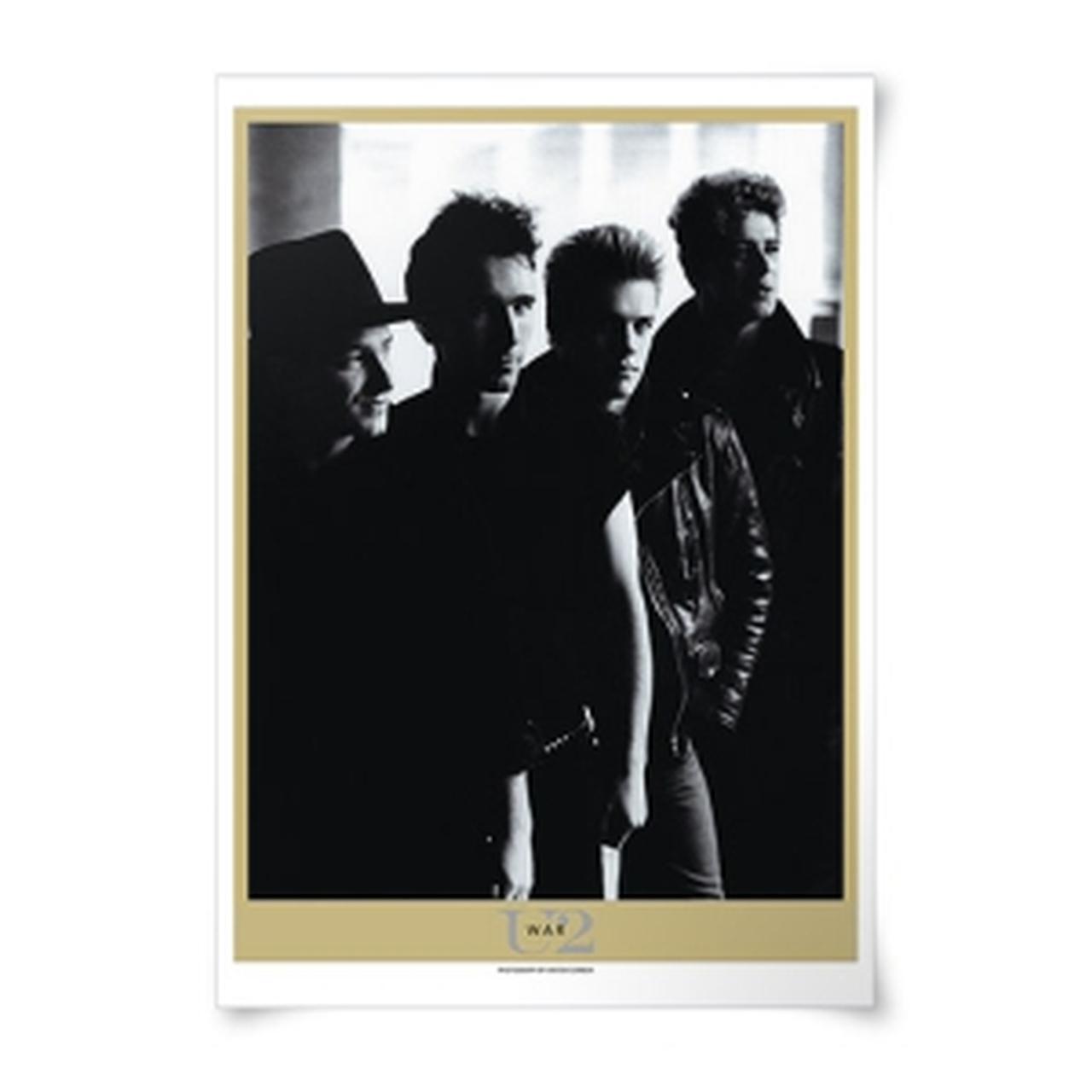 U2 war album lithograph
