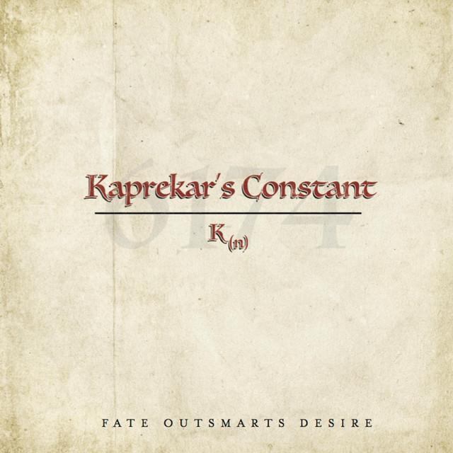 Kaprekars Constant