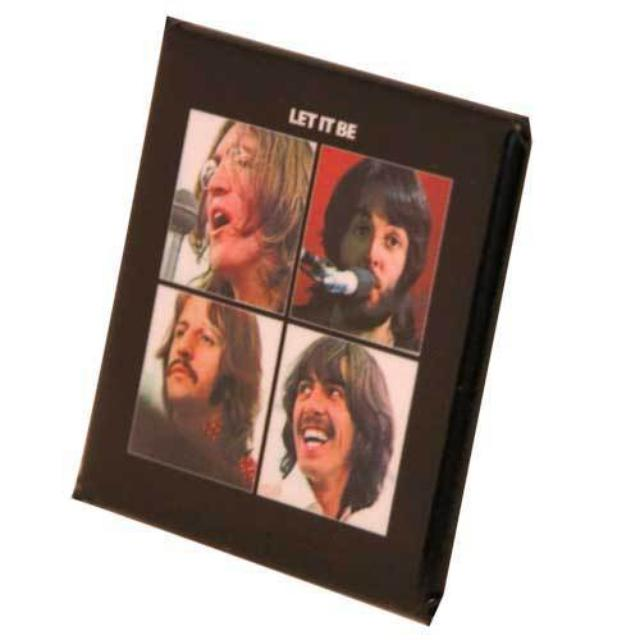 The Beatles Let It Be Button