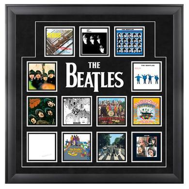"The Beatles ""UK Album Covers"" Framed Presentation"