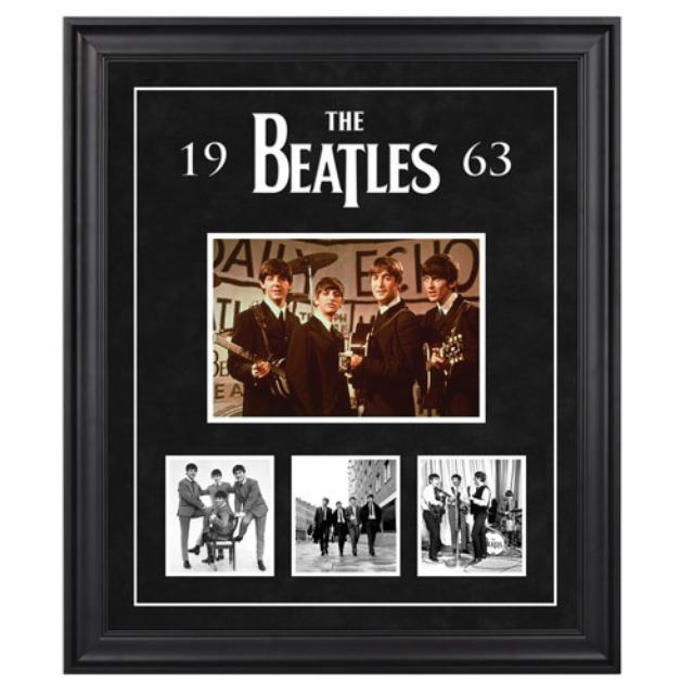 "The Beatles ""1963"" Framed Presentation"