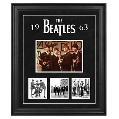 """The Beatles """"1963"""" Framed Presentation"""