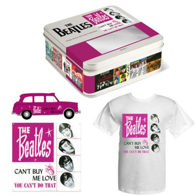 The Beatles Cant Buy Me Love Limited Edition Taxi Tin