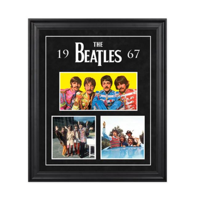 "The Beatles ""1967"" Framed Presentation"