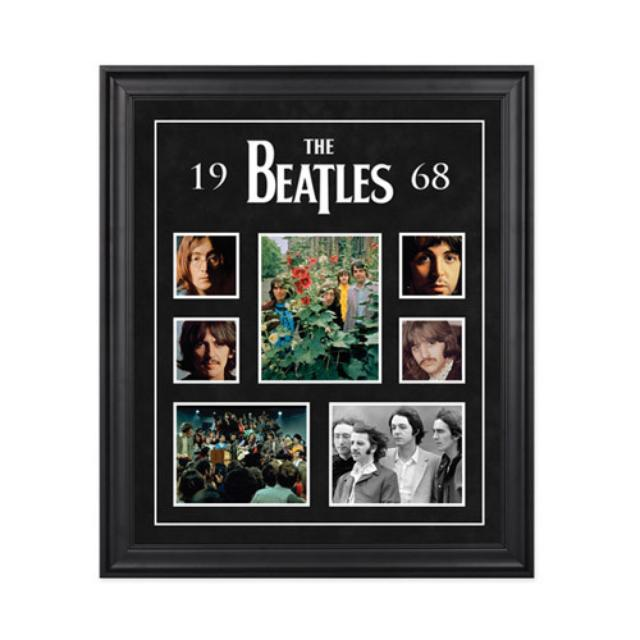"The Beatles ""1968"" Framed Presentation"