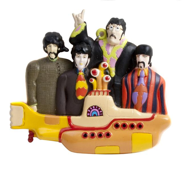 The Beatles Yellow Submarine & Group Ornament