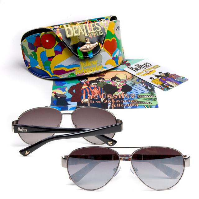 The Beatles Yellow Submarine Metal Aviator Sunglasses