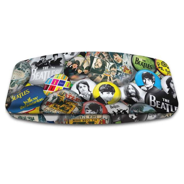 The Beatles Buttons Eyeglass Case