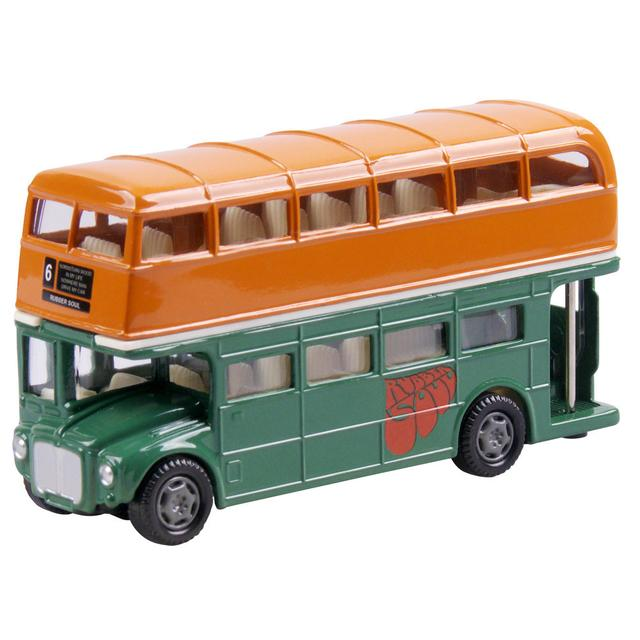 The Beatles Rubber Soul London Bus