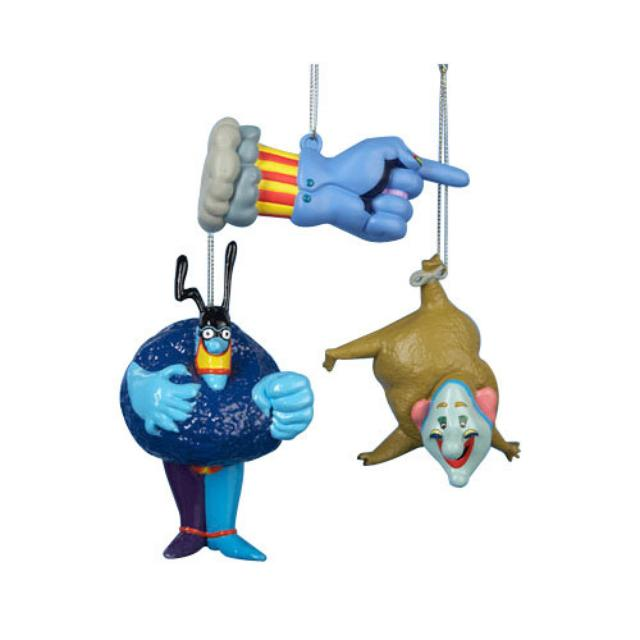 The Beatles Yellow Submarine Assorted Ornament Set of Three