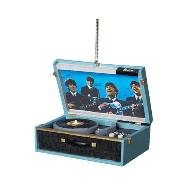 The Beatles Replica Record Player Ornament
