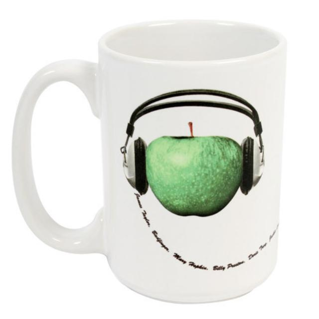 The Beatles Apple Records Mug