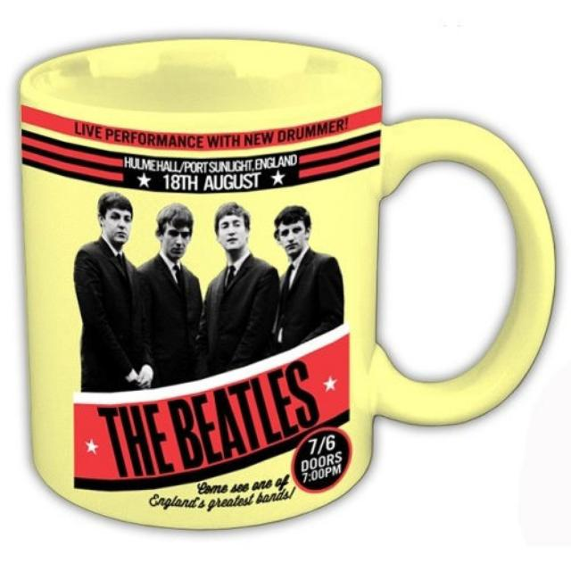The Beatles 1962 'Live Performance With New Drummer' Boxed Mug