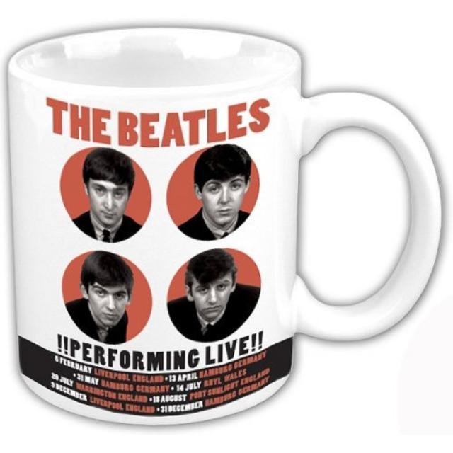 The Beatles 1962 '!Performing Live!' Boxed Mug