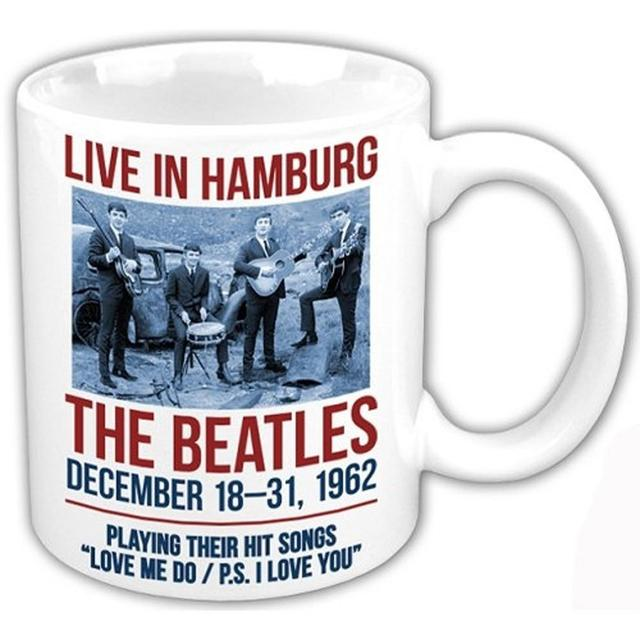 The Beatles 1962 'Live In Hamburg' Boxed Mug