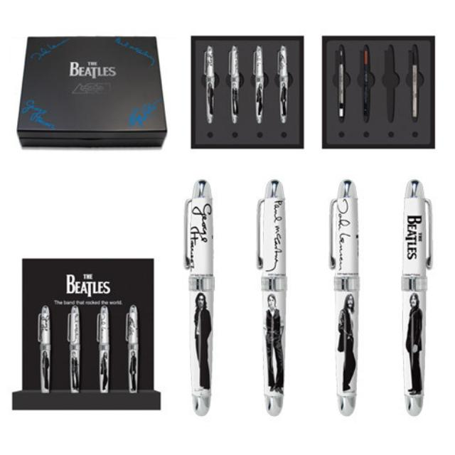 The Beatles Limited Edition Collectible Set Of 4 Pens