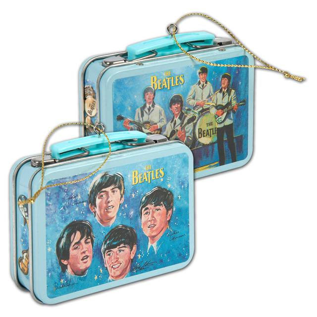 The Beatles Tin Lunch Box Ornament