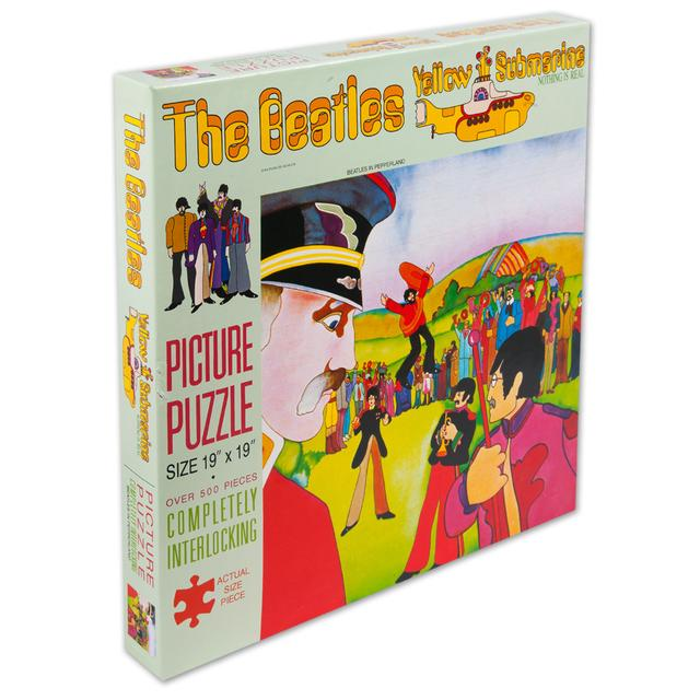 The Beatles Yellow Submarine Picture Puzzle