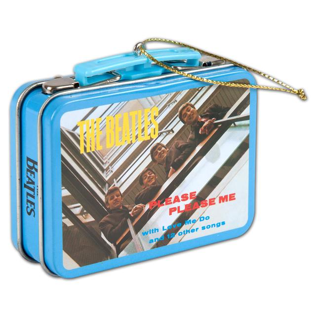 "The Beatles ""Please Please Me"" Tin/Box Ornament"