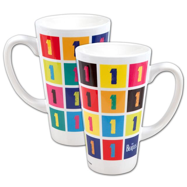 "The Beatles 16oz. ""1"" Latte Mug"