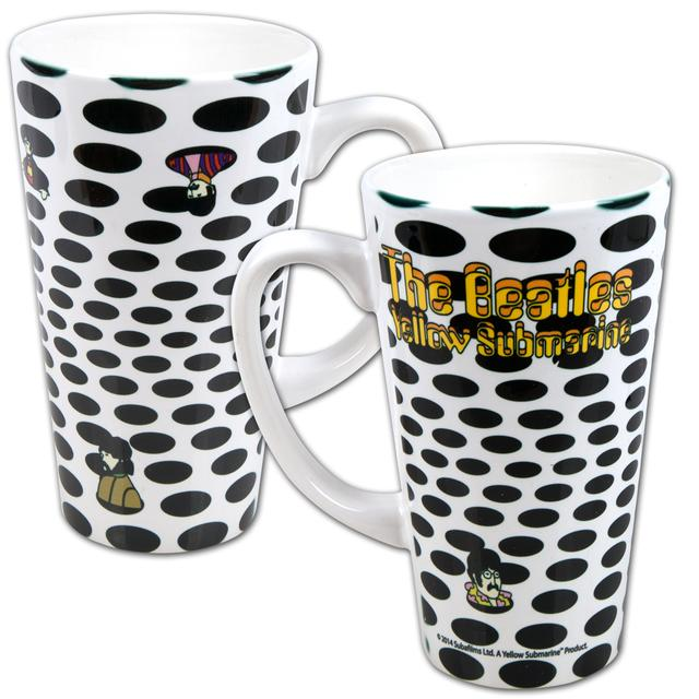 The Beatles 16oz. Holes Latte Mug
