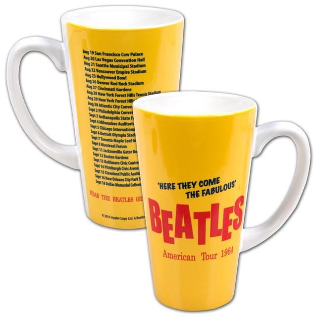 The Beatles 16oz. American Tour Latte Mug