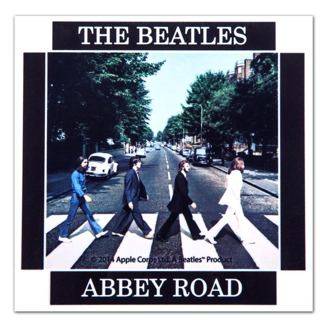 The Beatles Abbey Road Ceramic Coaster