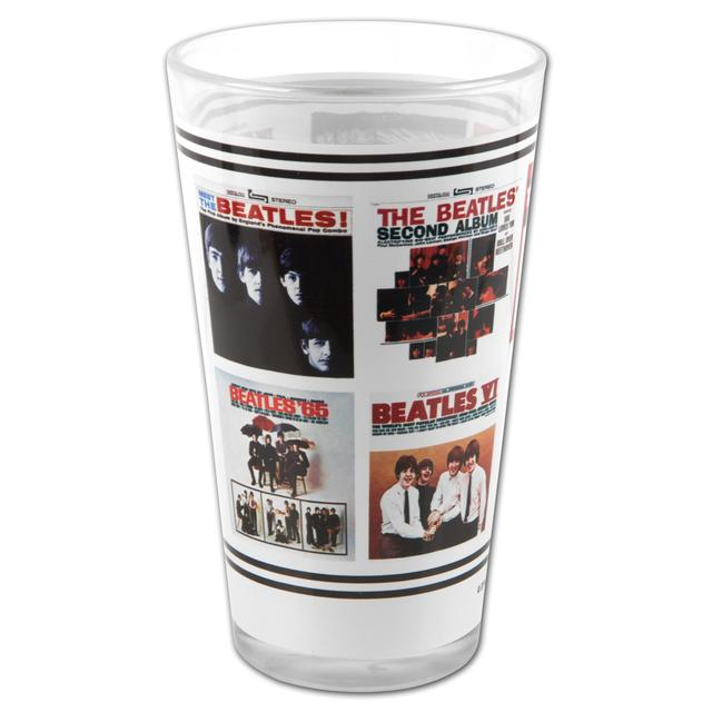 The Beatles U.S. Albums Pint Glass