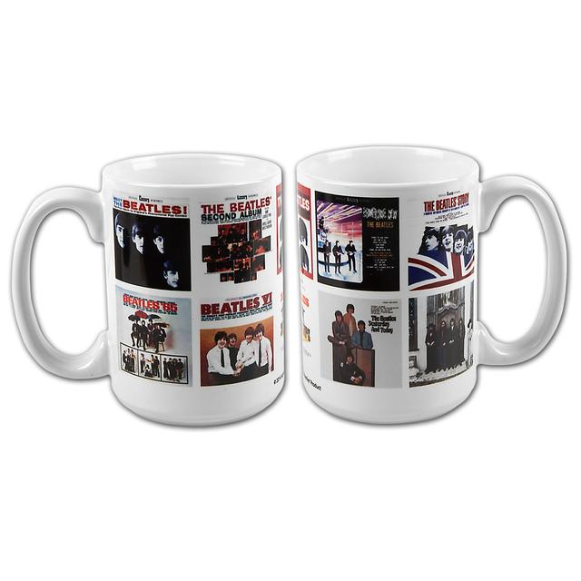 The Beatles Albums Mug