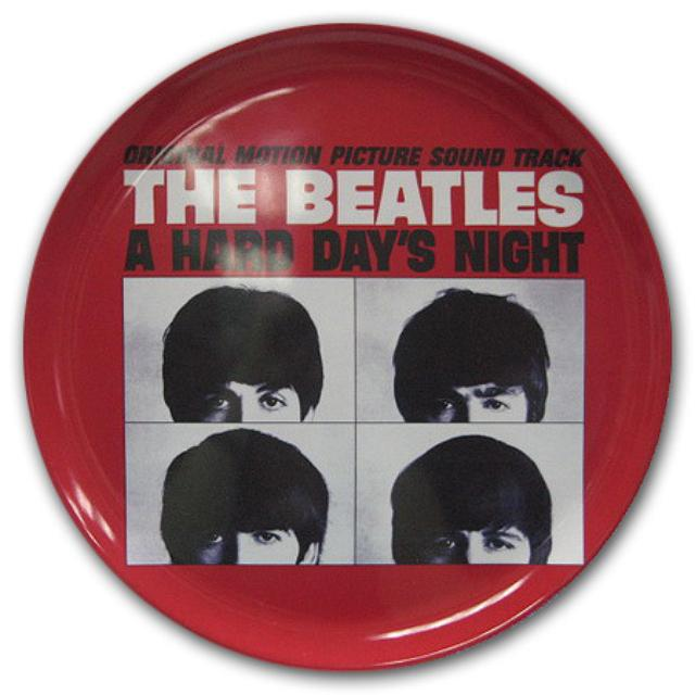 """The Beatles A Hard Days Night 14"""" Melamine Tray"""