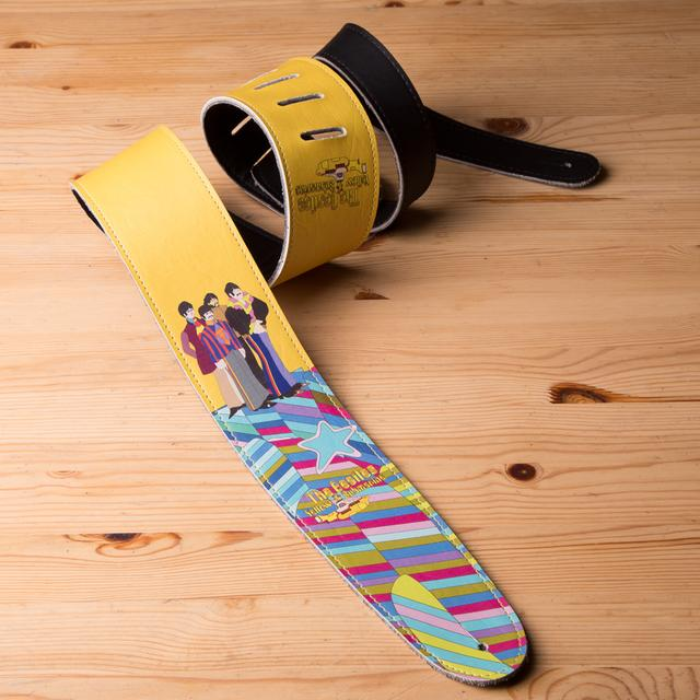 "The Beatles Yellow Submarine 2.5"" Vinyl Guitar Strap"