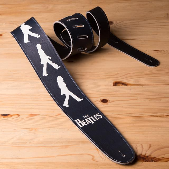"The Beatles Abbey Road Outlines 2.5"" Vinyl Guitar Strap"