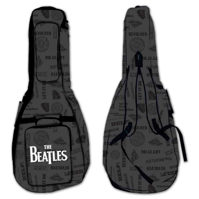 The Beatles Logo Acoustic Guitar Gig Bag