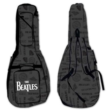 The Beatles Logo Bass Guitar Gig Bag