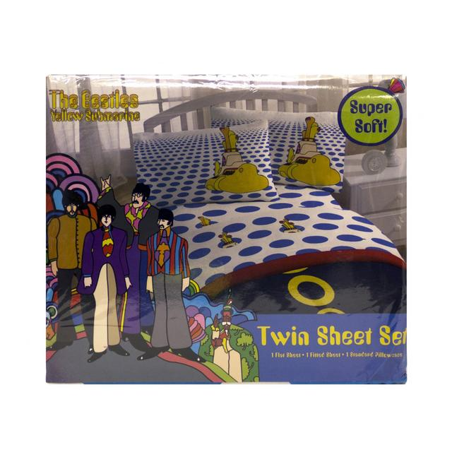 The Beatles Yellow Submarine Twin Sheet Set