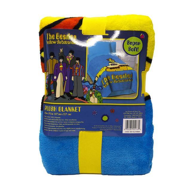 The Beatles Yellow Submarine 62x90 Fleece Blanket