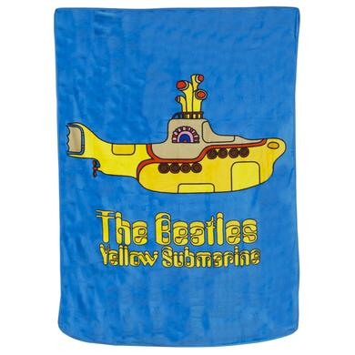 The Beatles Yellow Submarine 62x90 Fleece Blanket