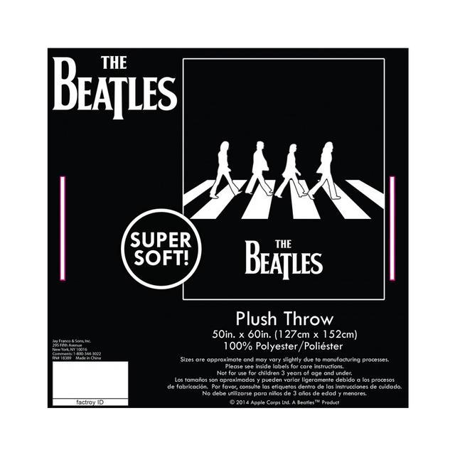The Beatles Abbey Road Plush Throw