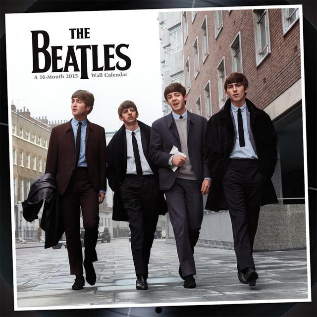 The Beatles Premium 2015 Wall Calendar