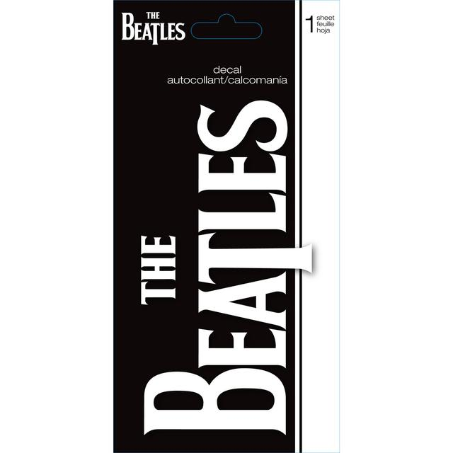The Beatles Logo Decal