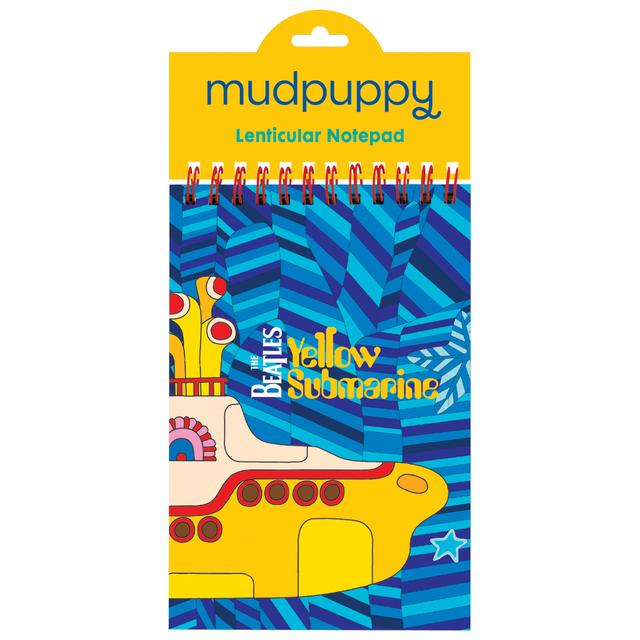 The Beatles Yellow Submarine Lenticular Notepad