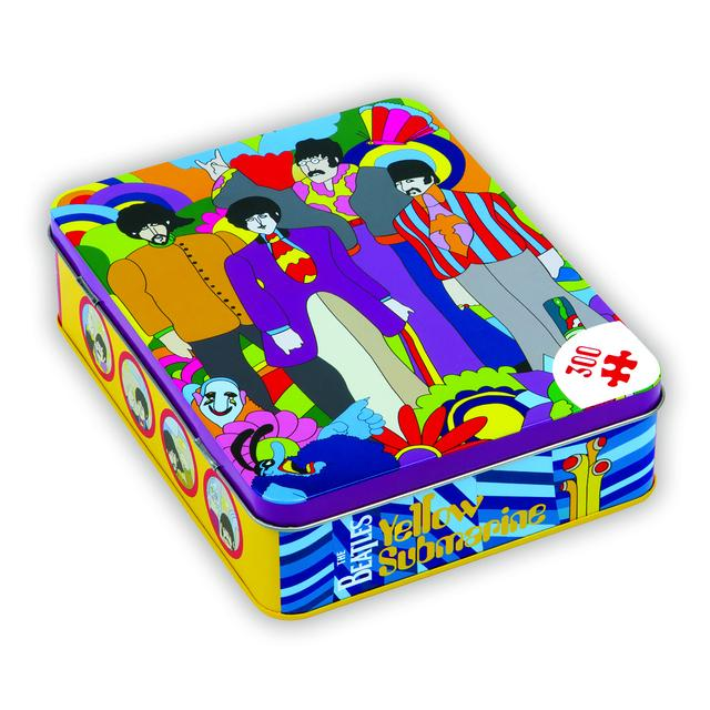 The Beatles Yellow Submarine 300 Piece 14x18 Puzzle