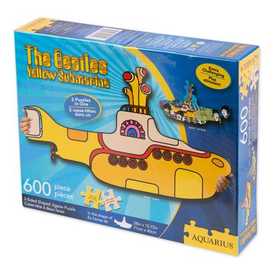 The Beatles Yellow Submarine Die Cut Shaped 600 pc. Puzzle