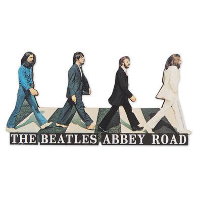 The Beatles Abbey Road Die Cut Magnet