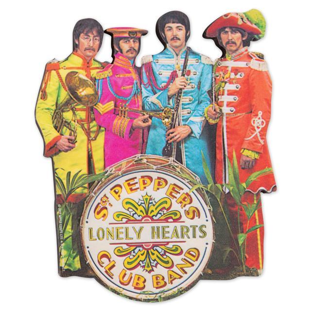 The Beatles Sgt. Pepper Die Cut Magnet