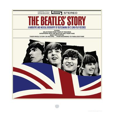 The Beatles Story Album Cover Lithograph
