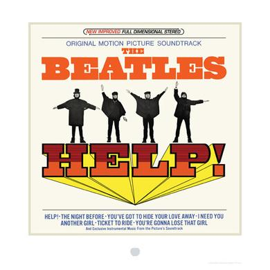The Beatles HELP! Album Cover Lithograph