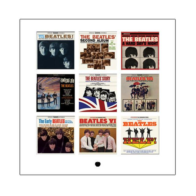 The Beatles US Album Cover Compilation Lithograph