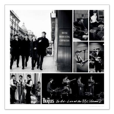 The Beatles On Air - Live At The BBC Volume 2 Lithograph