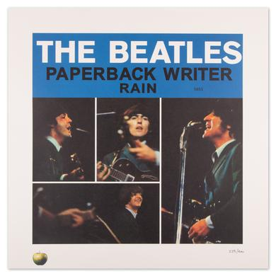 Paperback Writer/Rain - The Beatles' Singles Lithograph Collection